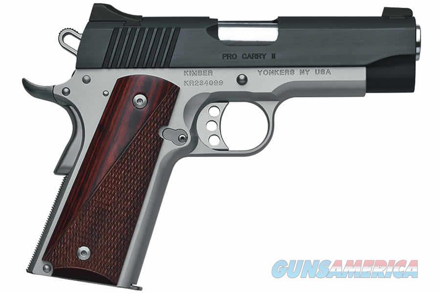"Kimber Pro Carry II (Two-Tone) 9mm 4"" 9 RD 3200333   Guns > Pistols > Kimber of America Pistols"