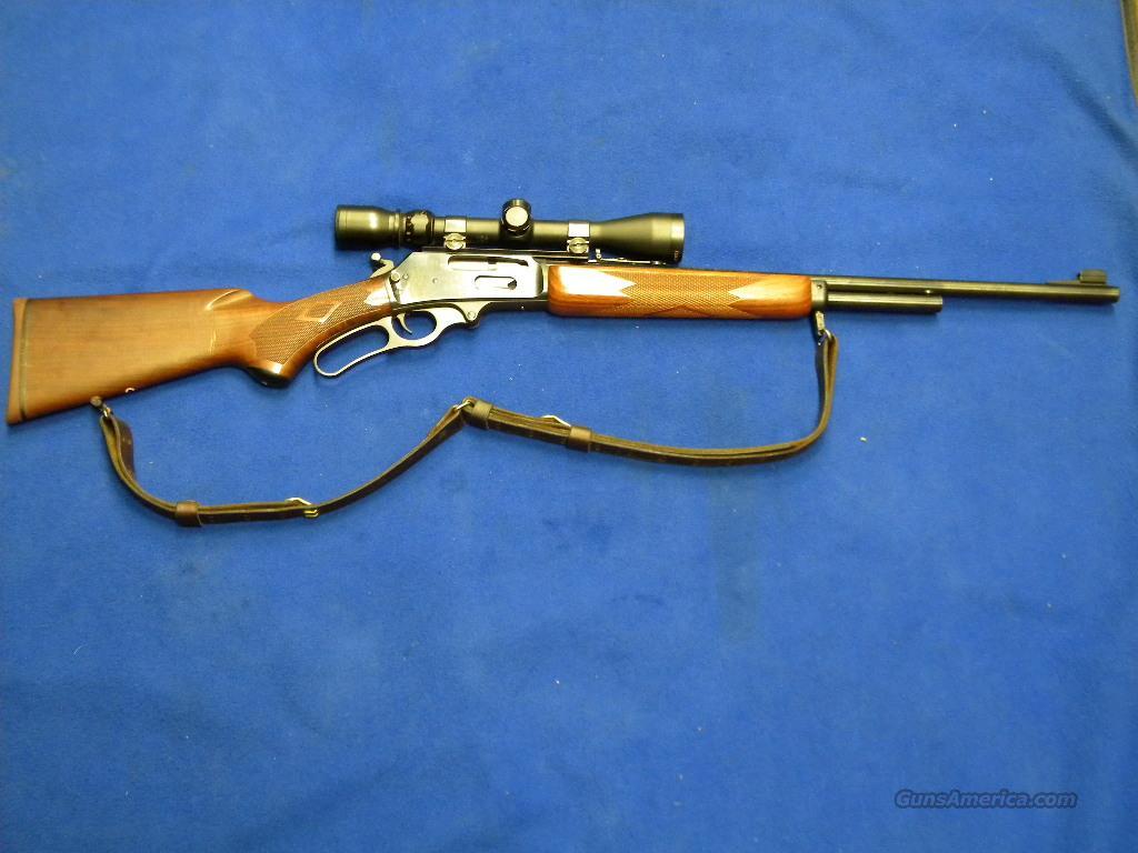 Used Pre-Remington Marlin .338 338MX w/Scope  Guns > Rifles > Marlin Rifles > Modern > Lever Action