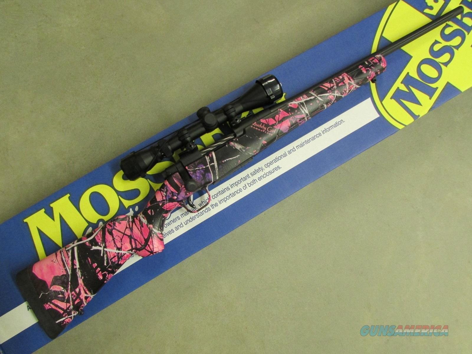 Mossberg Patriot Super Bantam Scoped Muddy Girl Camo 7mm-08 Rem 27927  Guns > Rifles > Mossberg Rifles > Other Bolt Action