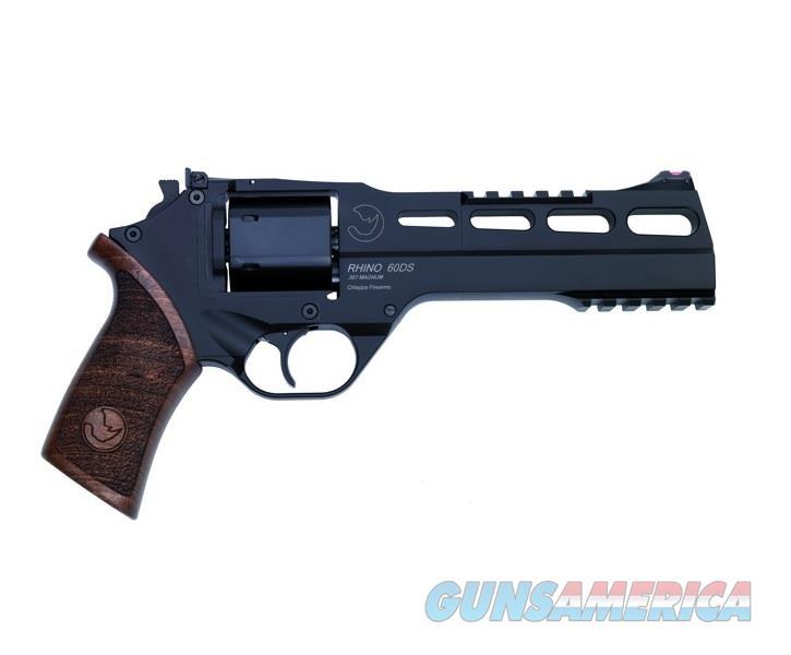 """Chiappa Rhino 60 DS Revolver .40 S&W 6"""" Black 340.230   Guns > Pistols > Chiappa Pistols & Revolvers > Rhino Models"""