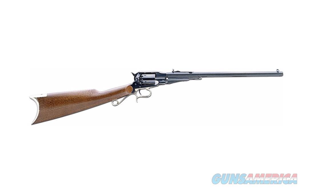 "Uberti 1858 New Army Target Carbine Muzzleloader .44 Caliber 18"" 341200  Guns > Rifles > Uberti Rifles > Revolving"