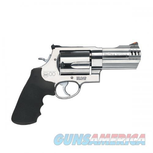 "Smith & Wesson S&W500 .500 S&W Magnum 4"" SS 163504   Guns > Pistols > Smith & Wesson Revolvers > Full Frame Revolver"