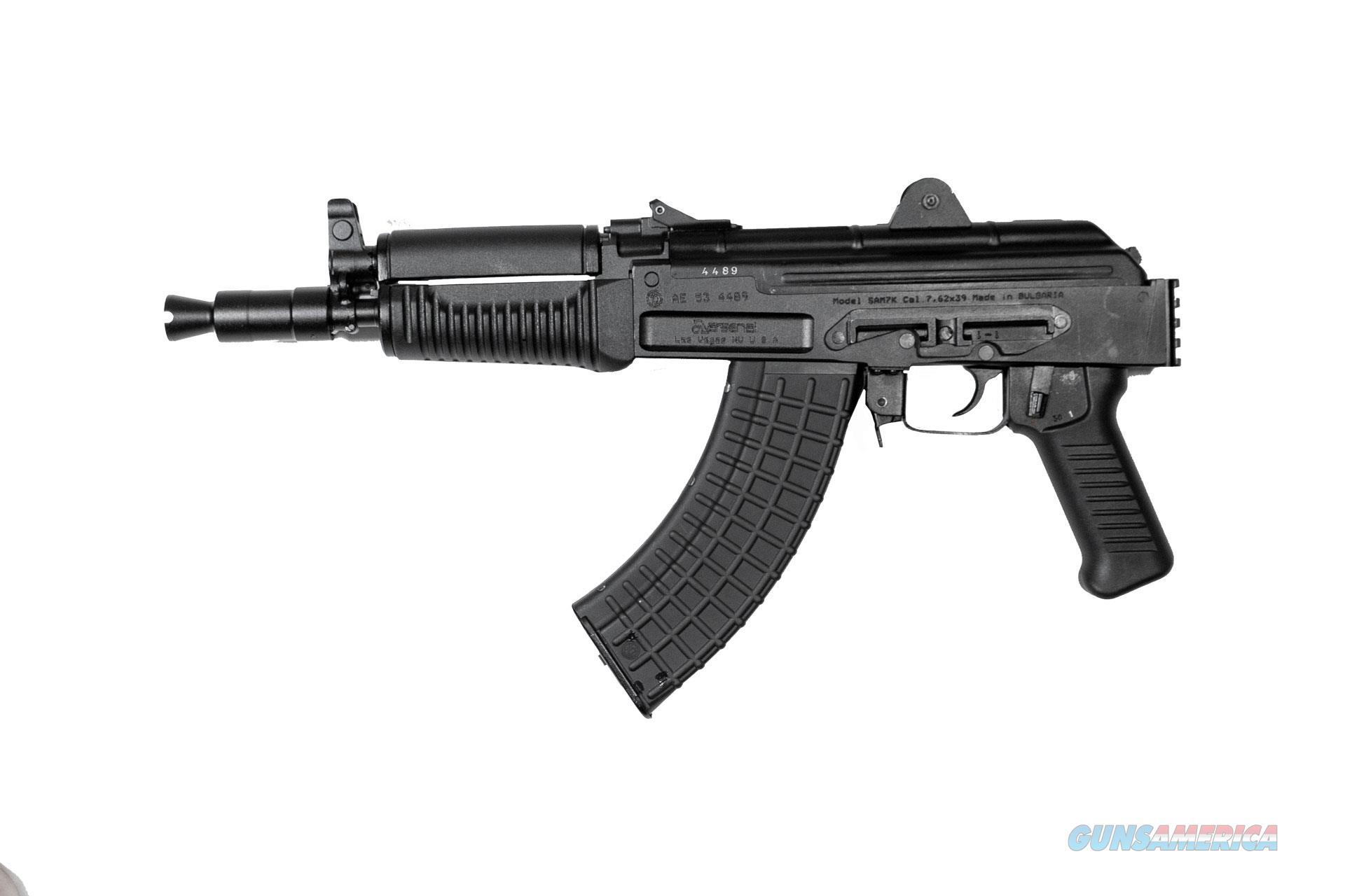 "Arsenal SAM7K 7.62x39mm Pistol 10.5"" 5 Rds SAM7K-04   Guns > Pistols > A Misc Pistols"