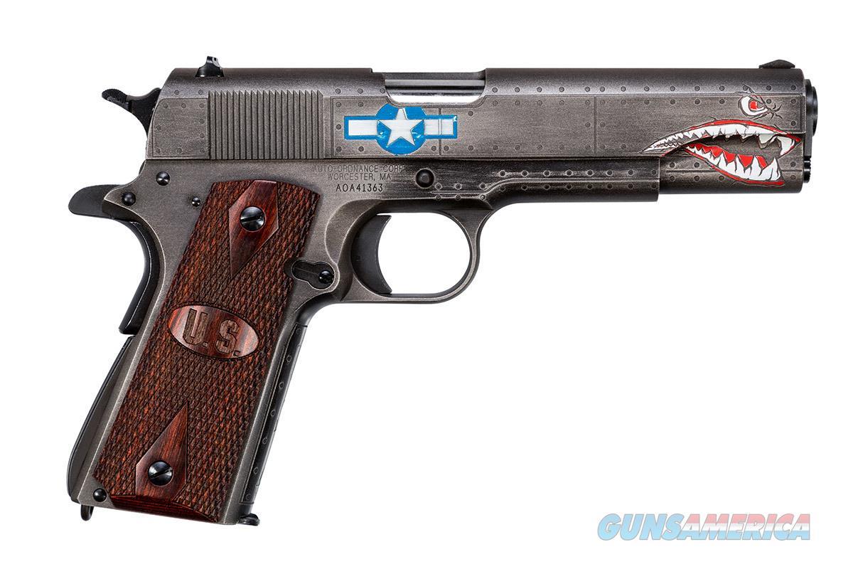"Auto-Ordnance 1911 Squadron Special Ed. WW2 5"" .45 ACP 1911BKOWC3  Guns > Pistols > Auto Ordnance Pistols"