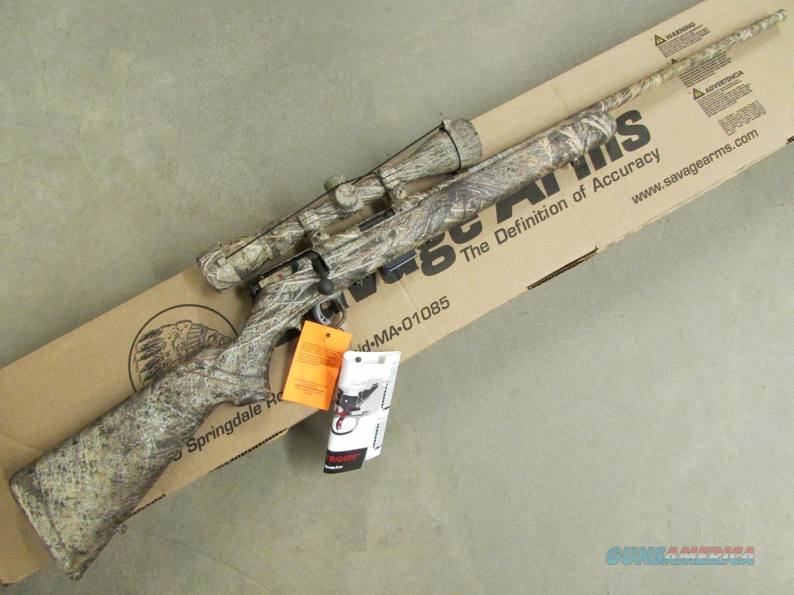 "Savage 93 R17 XP 22"" Mossy Oak Brush .17 HMR 3-9x40mm Scope Package  Guns > Rifles > Remington Rifles - Modern"