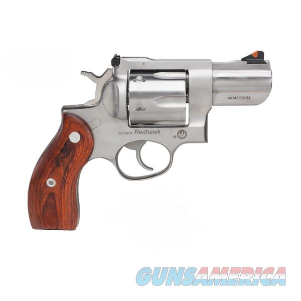 Ruger Redhawk .44 Mag Stainless w/ Wood Grips TALO 5028   Guns > Pistols > Ruger Double Action Revolver > Redhawk Type