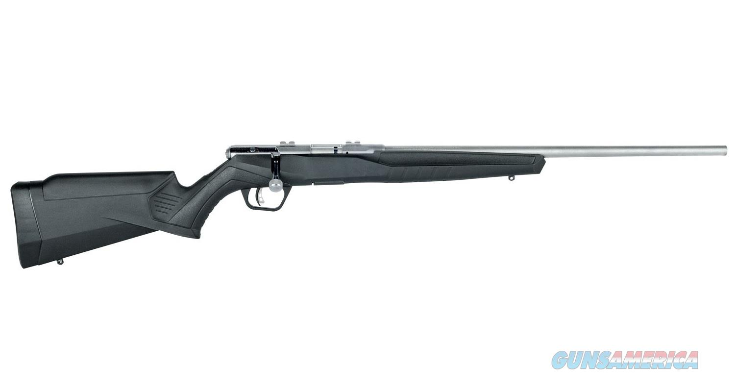 "SAVAGE ARMS B-SERIES B17 FVSS 21"" STAINLESS .17 HMR 70802  Guns > Rifles > Savage Rifles > Accutrigger Models > Sporting"