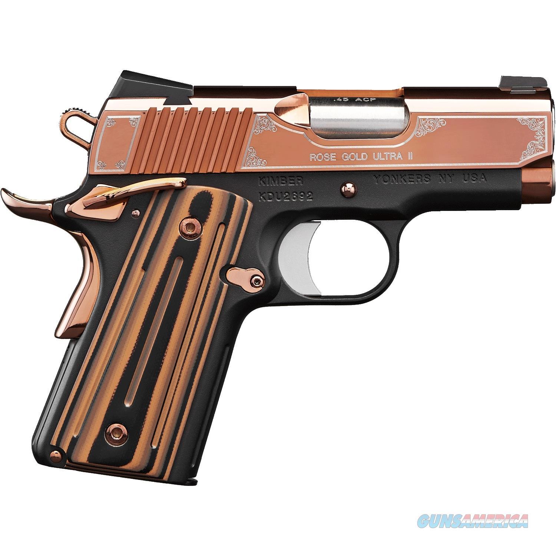 "Kimber Rose Gold Ultra II 9mm 3"" 8 Rounds 3200372  Guns > Pistols > Kimber of America Pistols"