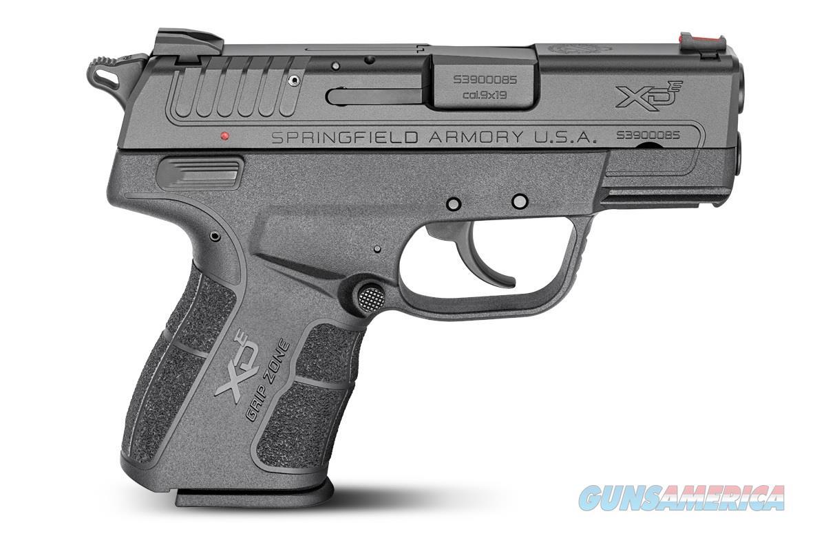 """Springfield Armory XD-E 9mm 3.3"""" 9rd XDE9339BE   Guns > Pistols > Springfield Armory Pistols > XD-E"""