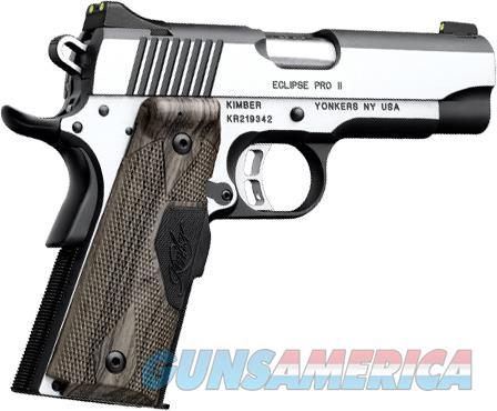Kimber Eclipse Pro II Laser Grip 1911 .45 ACP 3200305  Guns > Pistols > Kimber of America Pistols > 1911