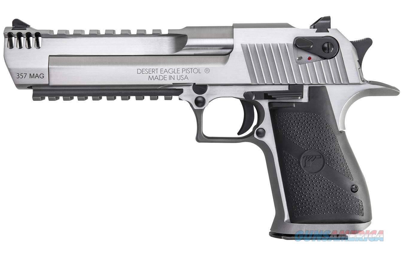 "Magnum Research Desert Eagle .357 Mag 6"" Stainless MB DE357SRMB   Guns > Pistols > Magnum Research Pistols"