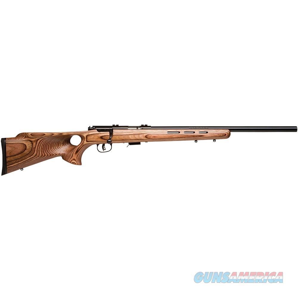 "Savage Mark II BTV21"" Heavy Barrel Laminate Thumbhole Stock .22 LR 28750  Guns > Rifles > Savage Rifles > Rimfire"
