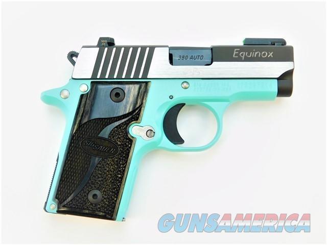 SIG SAUER P238 .380 ACP CUSTOM EQUINOX EGG BLUE CERAKOTE   Guns > Pistols > Sig - Sauer/Sigarms Pistols > P238