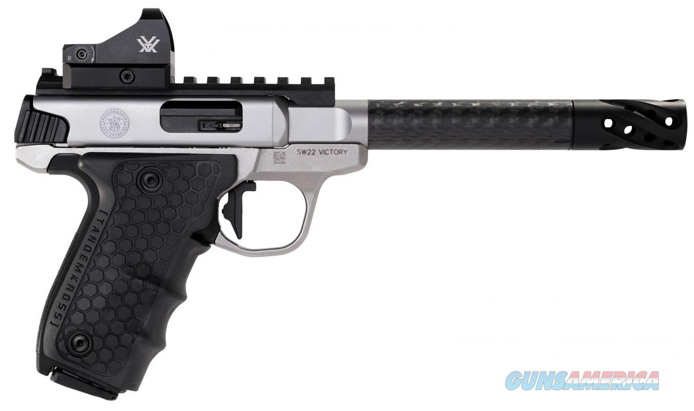 """Smith & Wesson SW22 Victory Target .22 LR 6"""" Viper Red Dot 12081  Guns > Pistols > Smith & Wesson Pistols - Autos > .22 Autos"""