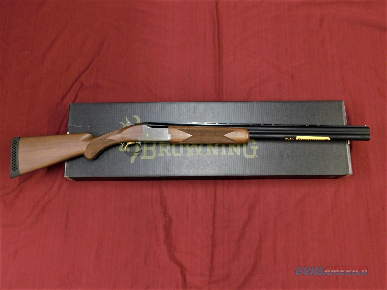 "BROWNING CITORI WHITE SATIN HUNTER 3.5"" 12 GA 013644204  Guns > Shotguns > Browning Shotguns > Over Unders > Citori > Hunting"