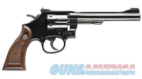 "Smith & Wesson Model 17 Masterpiece 6"" Blued .22 LR 150477  Guns > Pistols > Smith & Wesson Revolvers > Full Frame Revolver"