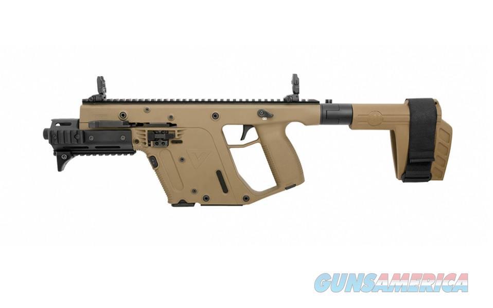 "Kriss Vector Gen II SDP SB 9mm FDE 6.5"" KV90-PSBFD31  Guns > Pistols > Kriss Tactical Pistols"