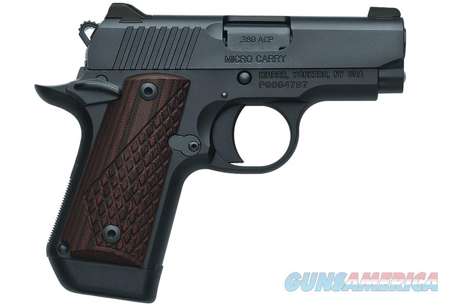 "Kimber Micro DC .380ACP 2.75"" Night Sights 3300095   Guns > Pistols > Kimber of America Pistols > Micro"