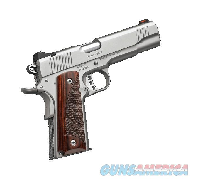 "Kimber Stainless II 9mm Rosewood Grips (2017) 5"" 3200327   Guns > Pistols > Kimber of America Pistols"