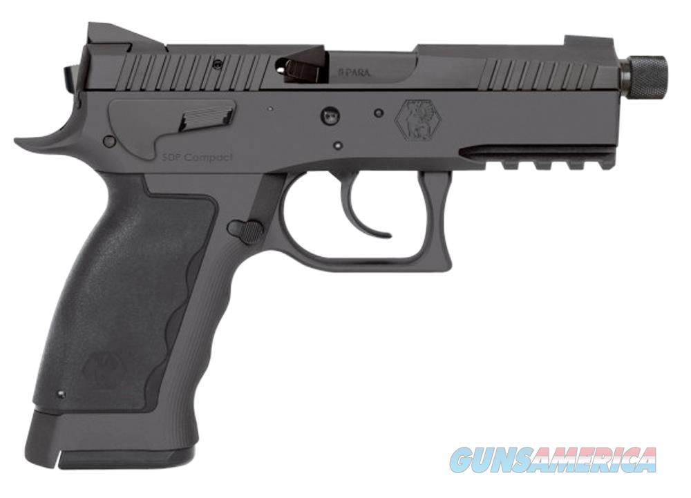 "Kriss Sphinx SDP Compact Duty Black 9mm 4.35"" TB S4-WSDCM-E086   Guns > Pistols > Kriss Tactical Pistols"