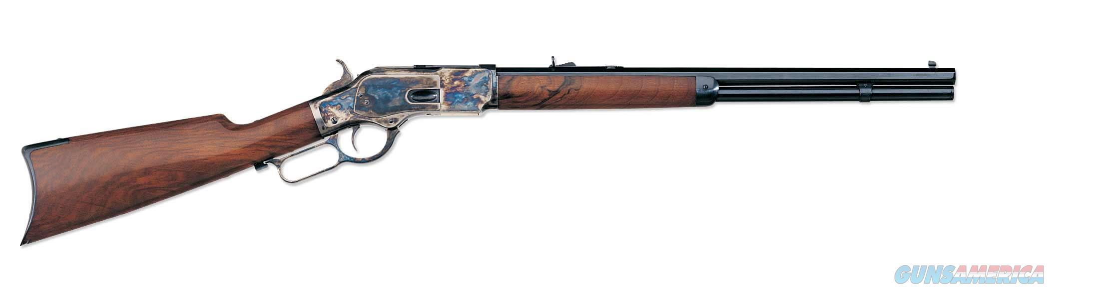 "Uberti 1873 Short Rifle .44-40 Win 20"" Octagon 342410   Guns > Rifles > Uberti Rifles > Lever Action"