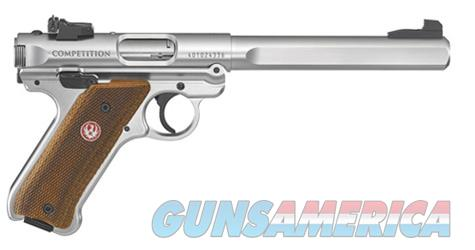 """Ruger Mark IV Competition .22LR Stainless 6.88"""" 40112   Guns > Pistols > Ruger Semi-Auto Pistols > Mark I/II/III/IV Family"""