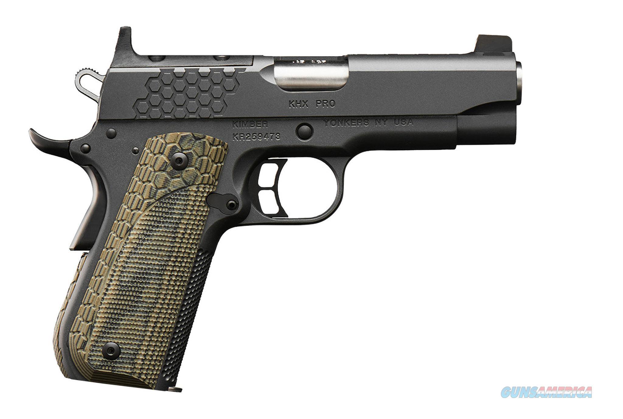 "Kimber KHX Pro (OR) Optics Ready .45 ACP 4""  3000362  Guns > Pistols > Kimber of America Pistols > 1911"