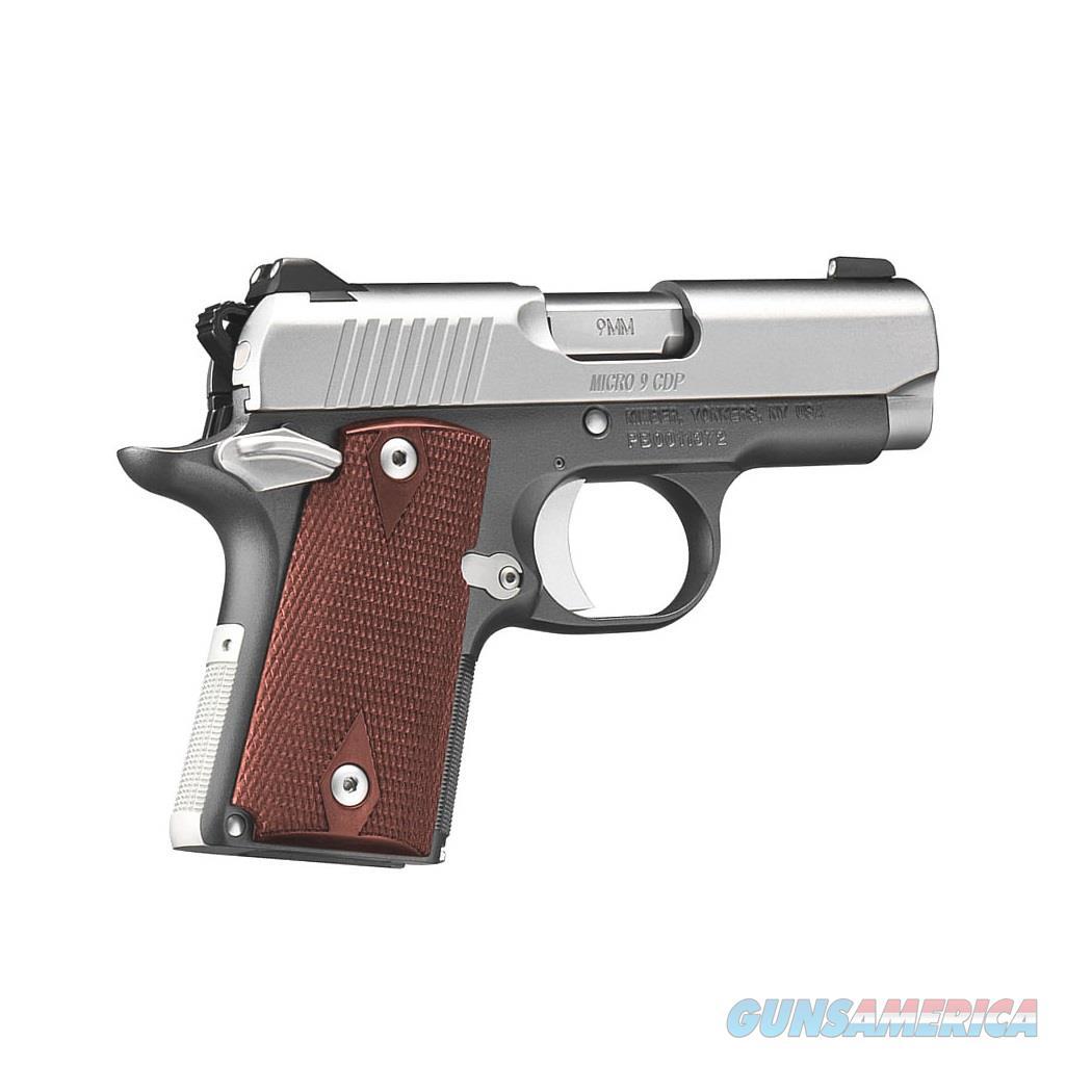 Kimber 3300193 Micro 9 Stainless Dn Pistol: Kimber Micro 9 CDP Custom Defense 9mm 3300097 For Sale