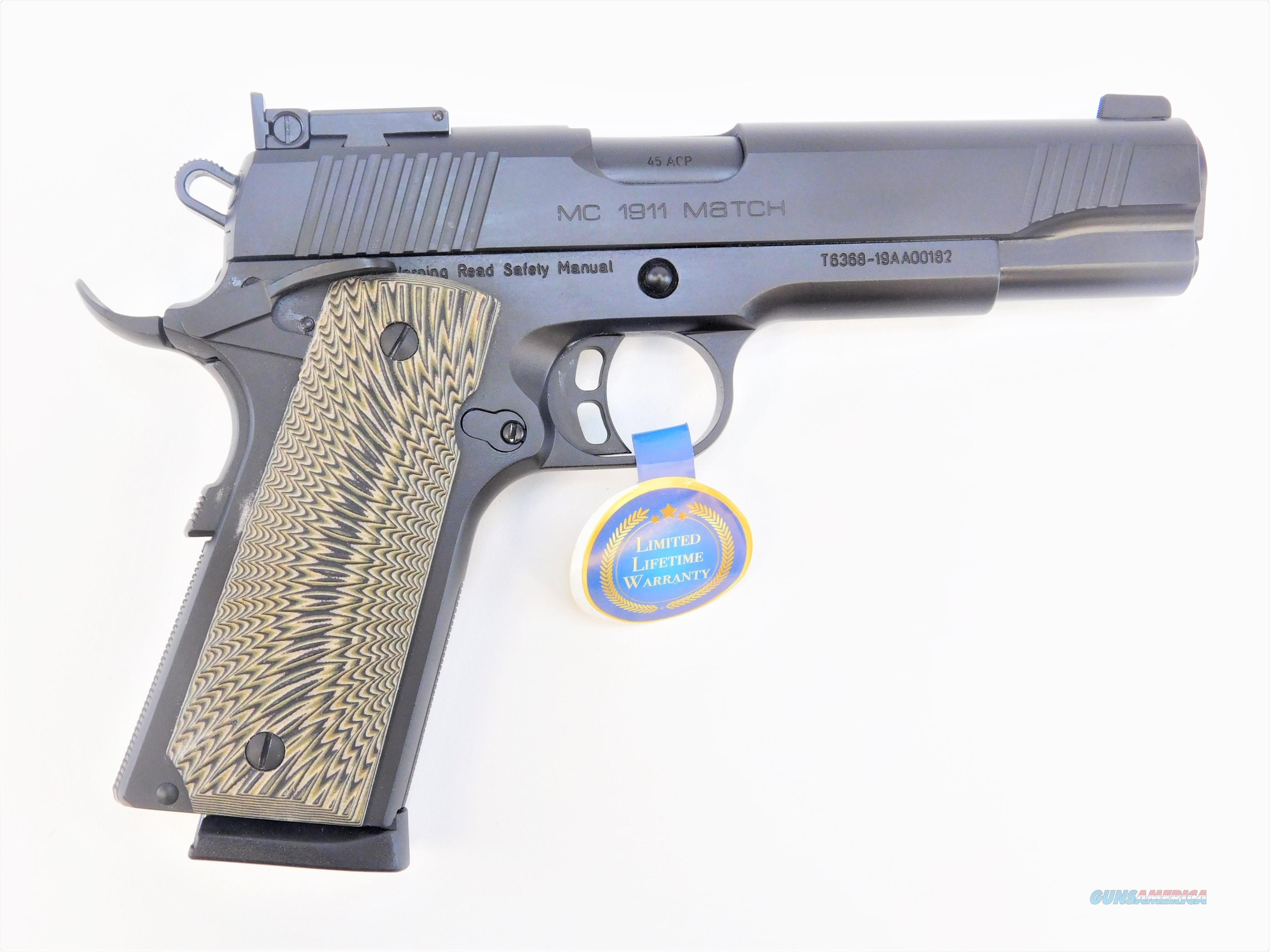 """EAA GiRSAN MC1911 Match .45 ACP 5"""" 8 Rds 390090   Guns > Pistols > EAA Pistols > Other"""