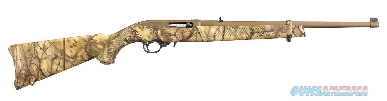 """Ruger 10/22 Carbine .22 LR Go Wild Camo 18.5"""" 10 Rds 31109   Guns > Rifles > Ruger Rifles > 10-22"""
