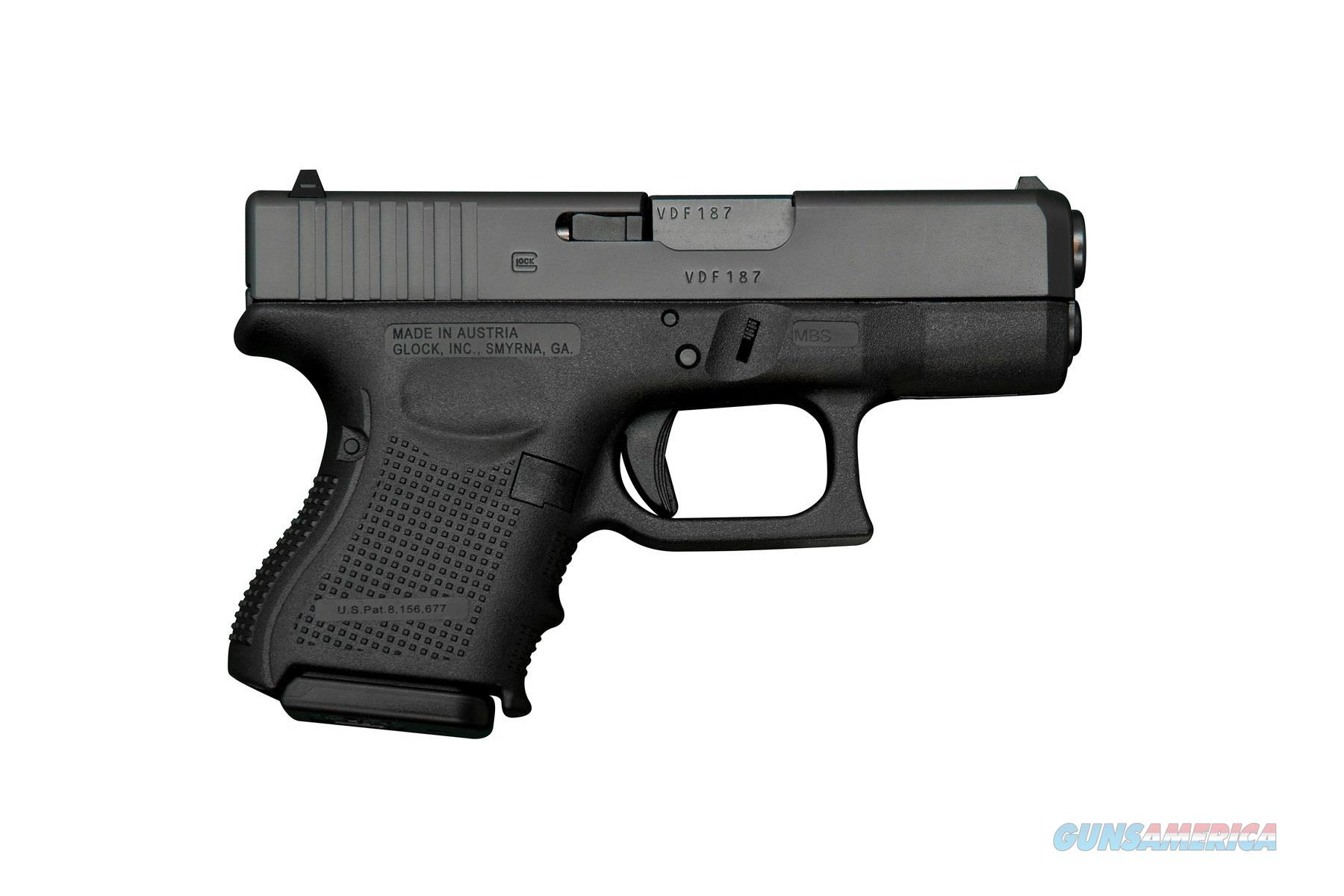 Glock 27 G27 GEN 4 SUB-COMPACT .40 S&W PG2750201  Guns > Pistols > Glock Pistols > 26/27