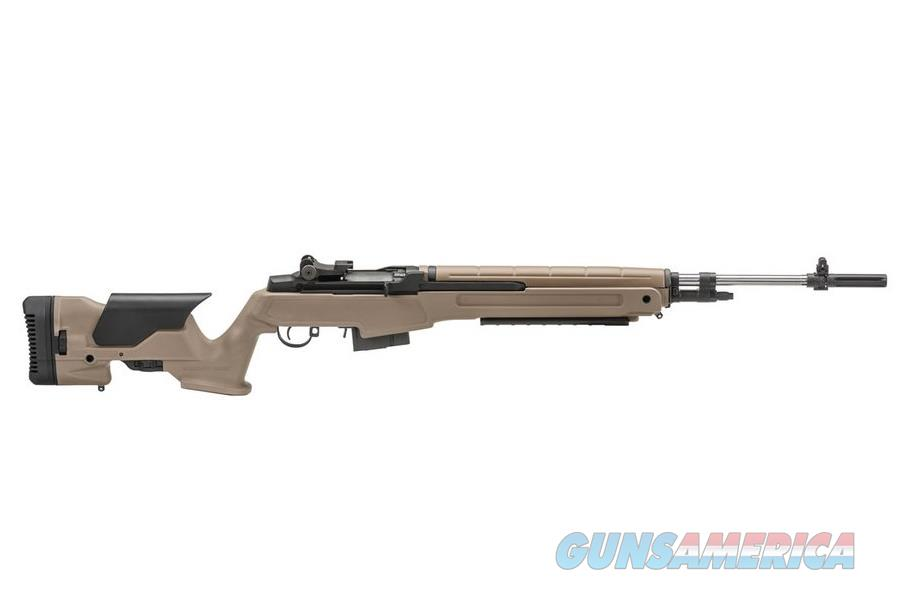 SPRINGFIELD M1A PRECISION STAINLESS .308 WIN. FDE MP9820  Guns > Rifles > Springfield Armory Rifles > M1A/M14