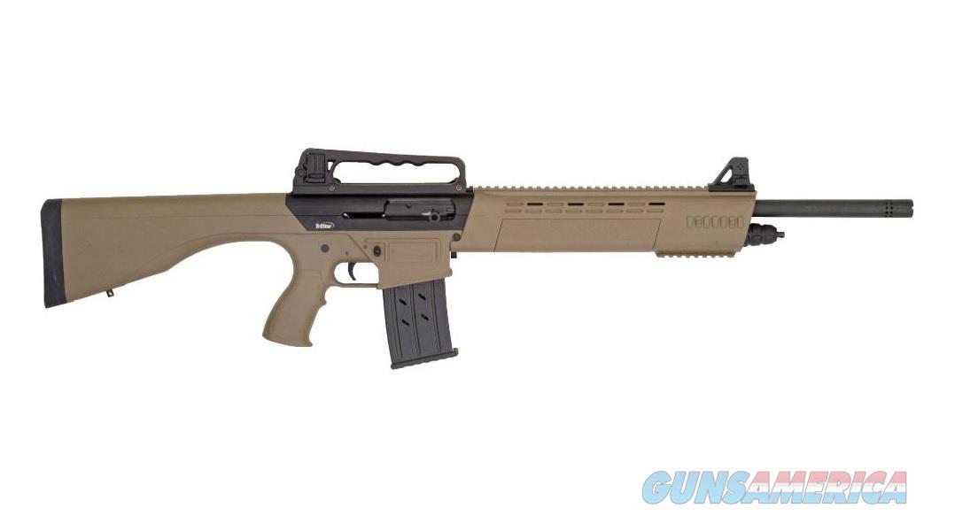 "TriStar Arms KRX Tactical 12 GA Semi-Auto 20"" FDE 5 Rounds 25130  Guns > Shotguns > Tristar Shotguns"