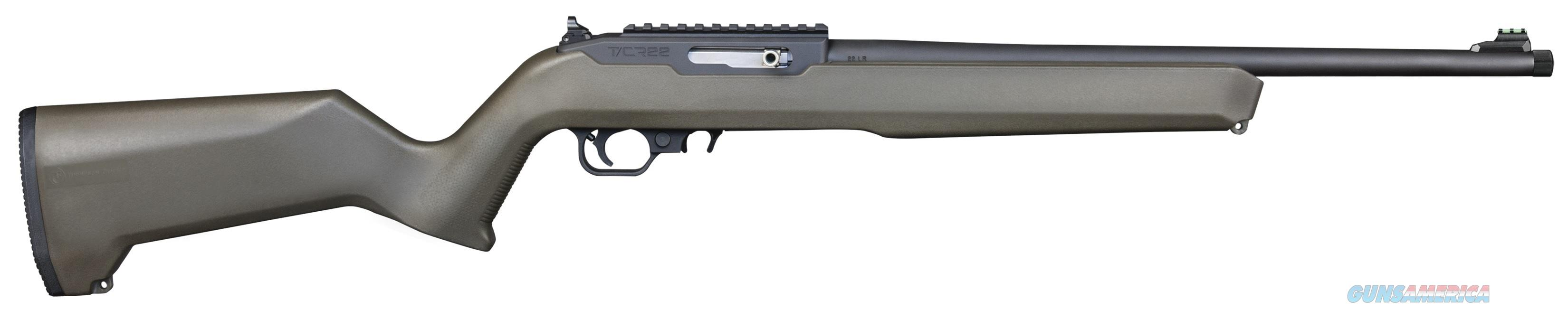 "Thompson Center T/CR22 .22 LR 17"" OD Green 10 Rds 12299   Guns > Rifles > Thompson Center Rifles > Dimension"