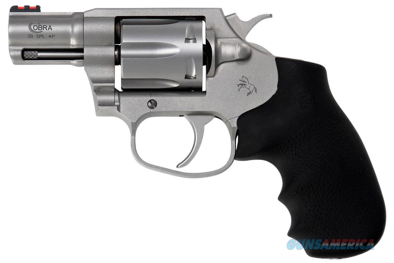 """Colt Cobra Revolver .38 Special +P 2"""" Stainless 6 Rds SM2FO   Guns > Pistols > Colt Double Action Revolvers- Modern"""