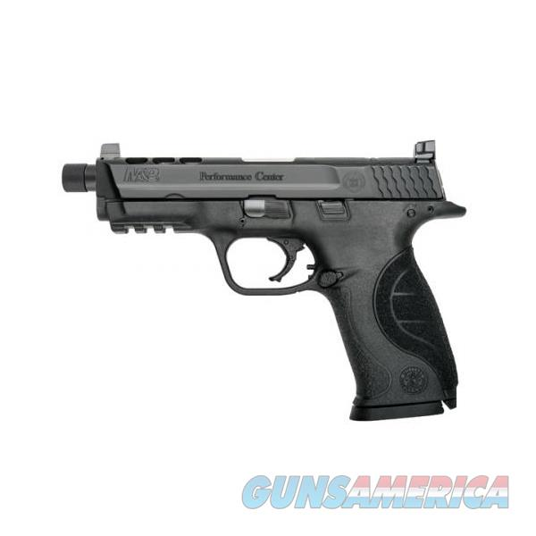 SMITH & WESSON M&P9 PERFORMANCE CENTER THREADED 9MM 10267  Guns > Pistols > Smith & Wesson Pistols - Autos > Polymer Frame