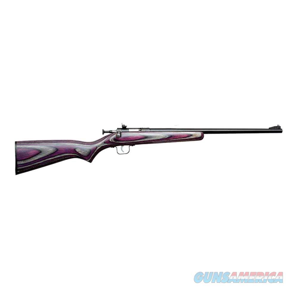 Keystone Crickett Single Shot .22 LR Purple Laminate KSA2227  Guns > Rifles > K Misc Rifles