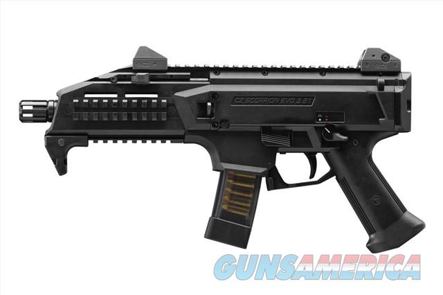 NEW CZ-USA Scorpion EVO 3 S1 Pistol 9mm 91350  Guns > Pistols > CZ Pistols