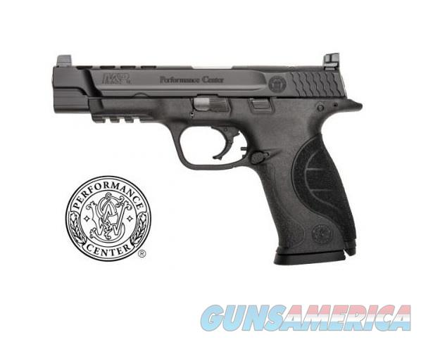 "Smith & Wesson PC Ported M&P9 9mm 5"" 17rd 10098  Guns > Pistols > Smith & Wesson Pistols - Autos > Polymer Frame"