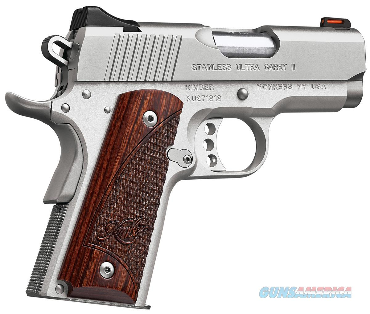 "Kimber Stainless Ultra Carry II 9mm (2017) 1911 3"" 8Rds 3200329   Guns > Pistols > Kimber of America Pistols"