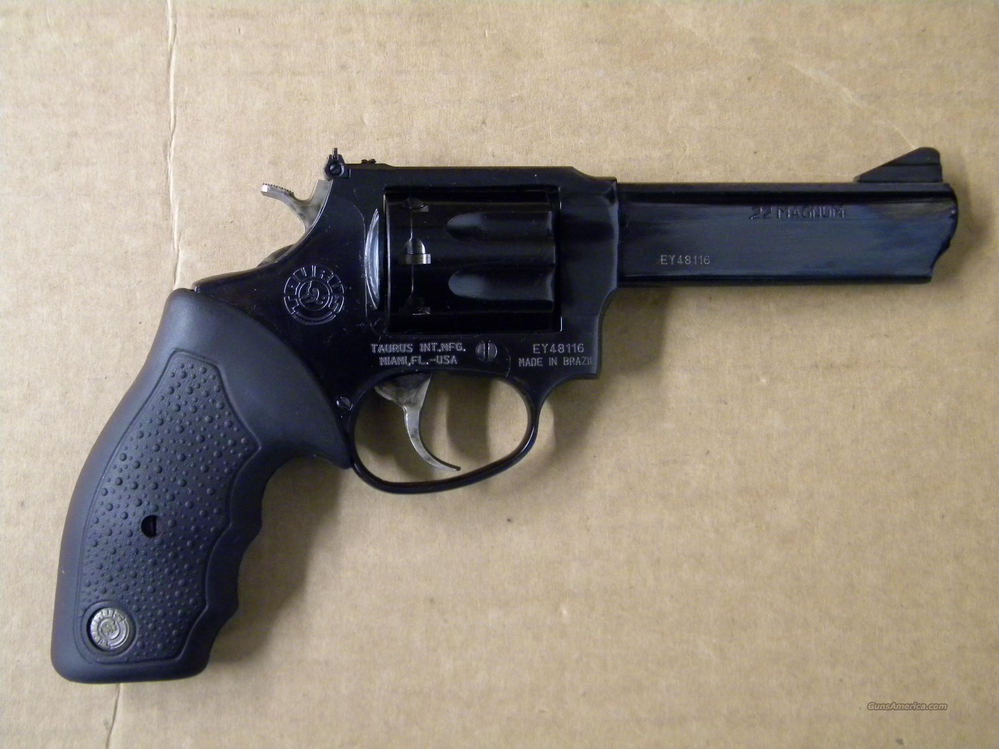 taurus model 941b 22 magnum revolver blued for sale. Black Bedroom Furniture Sets. Home Design Ideas