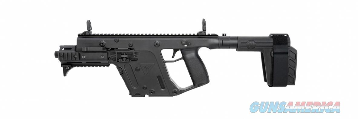 "Kriss Vector Gen II SDP-SB 9mm Black 6.5"" TB KV90-PSBBL31  Guns > Pistols > Kriss Tactical Pistols"