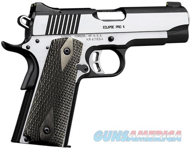 "Kimber Eclipse Pro II .45 ACP 4"" Tritium NS CALIFORNIA  3200035CA   Guns > Pistols > Kimber of America Pistols > 1911"