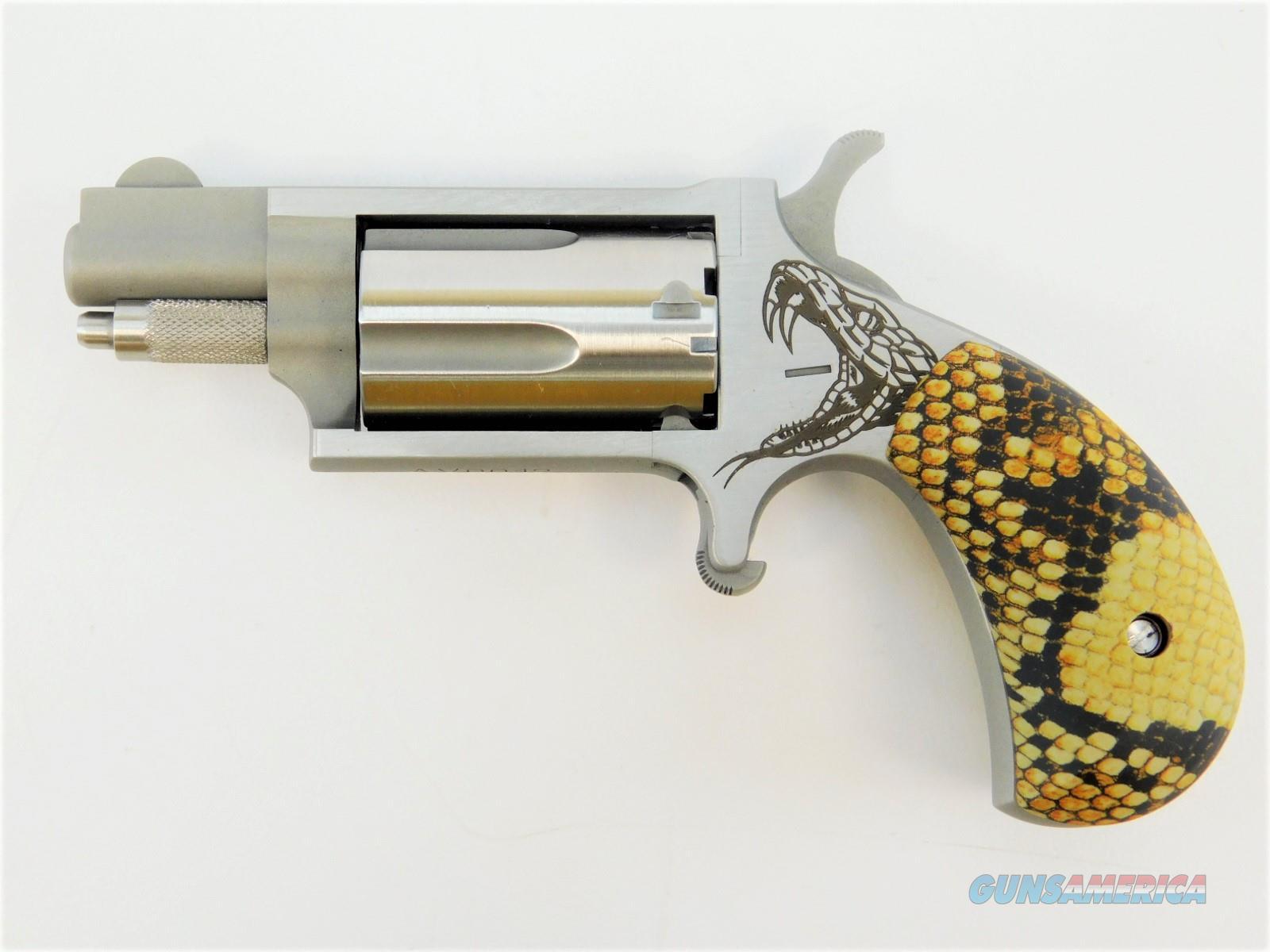 "NAA Mini-Revolver .22 WMR 1.125"" Snake Grip NAA-22MS-GST-SG  Guns > Pistols > North American Arms Pistols"