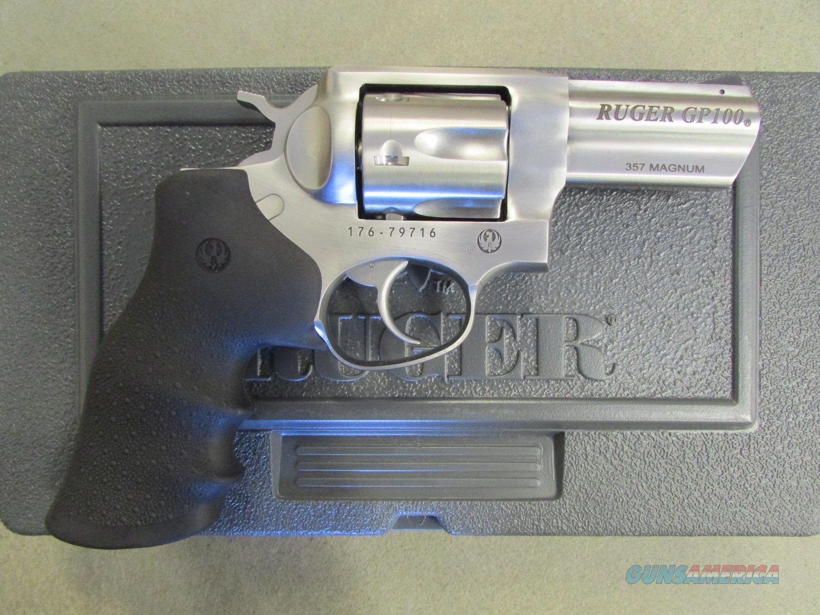 "Ruger GP100 Double-Action 3"" .357 Magnum 1715  Guns > Pistols > Ruger Double Action Revolver > SP101 Type"