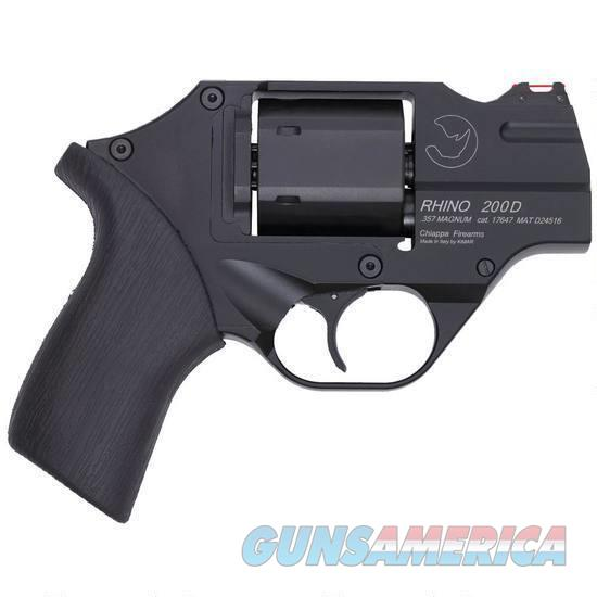 "Chiappa Rhino 200D .357 Magnum DAO 2"" Black CF340.217   Guns > Pistols > Chiappa Pistols & Revolvers > Rhino Models"