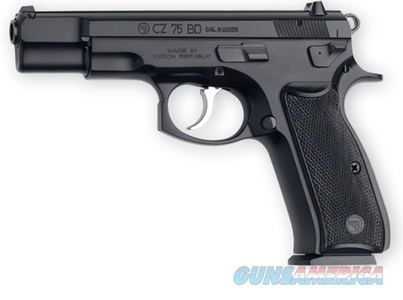 "CZ-USA CZ 75 BD 9mm Luger 4.6"" 16 Rds Black 91130  Guns > Pistols > CZ Pistols"