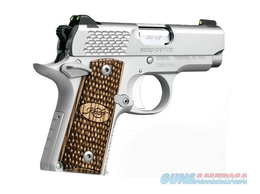 "Kimber Micro Raptor Stainless .380 ACP 2.75"" 3300084   Guns > Pistols > Kimber of America Pistols > Micro"