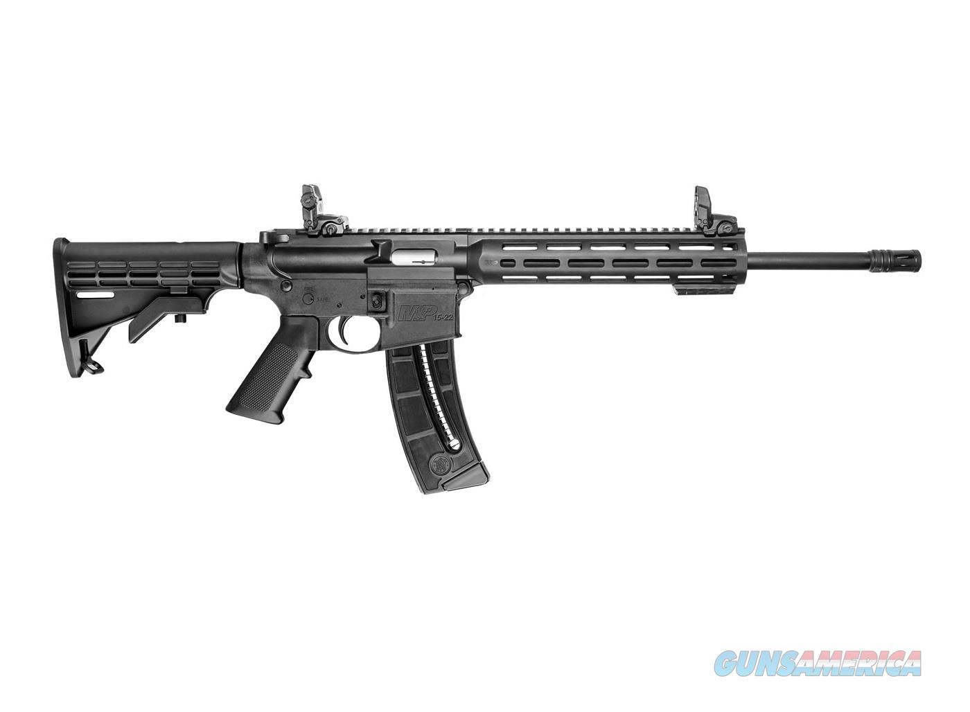 SMITH & WESSON M&P15-22 SPORT AR-15 .22 LR  10208  Guns > Rifles > Smith & Wesson Rifles > M&P