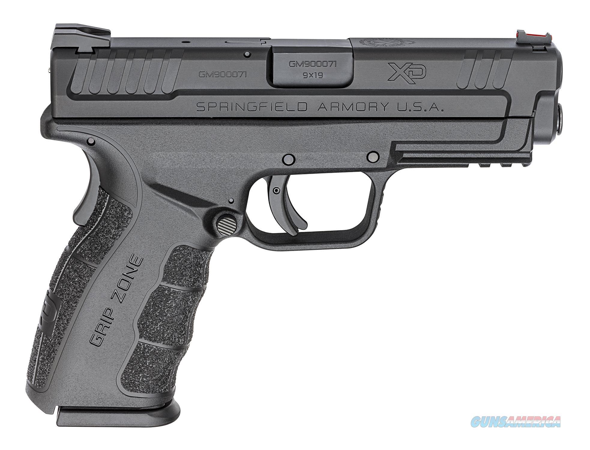 "Springfield XD Mod.2 9mm Grey/Black 4"" 16 Rounds XDG9101YHC   Guns > Pistols > Springfield Armory Pistols > XD-Mod.2"